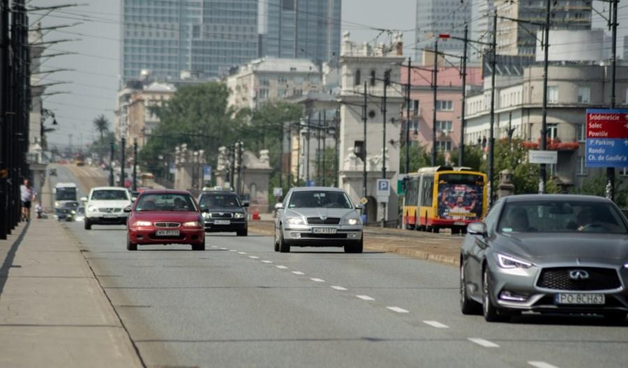 Warszawa: Fotoradary na moście Poniatowskiego. Wybrany wykonawca