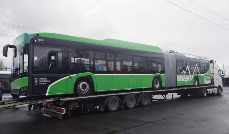 Kolejne trolejbusy Solarisa pojadą do Braszowa