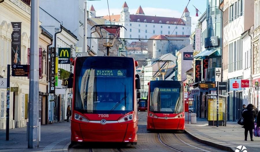 Bratysława kupuje 10 dwukierunkowych tramwajów