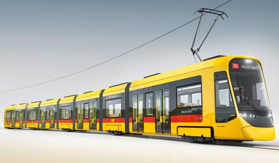 Bazylea kupuje 25 tramwajów od Stadlera