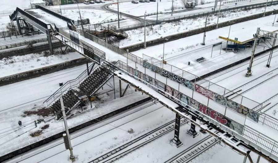 Będzie nowa kładka przy przystanku SKM Gdańsk Stocznia. Przetarg na projekt