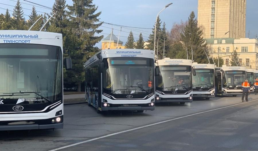 Do Omska trafi 29 dodatkowych trolejbusów Admirał. Do końca marca