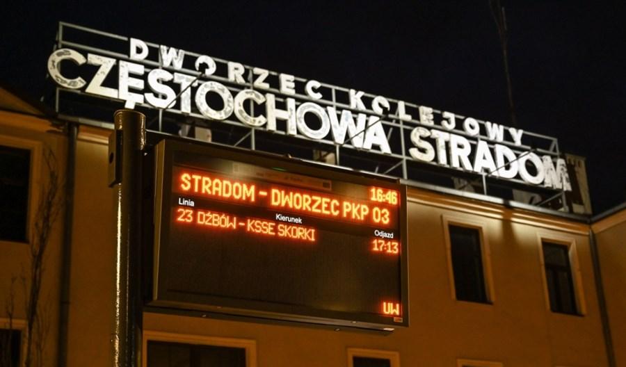 Częstochowa: Na tablicach SDIP nadal tylko komunikacja miejska