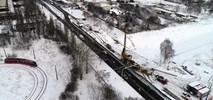 Sosnowiec: Zima nie wstrzymuje budowy trasy tramwajowej na Zagórzu