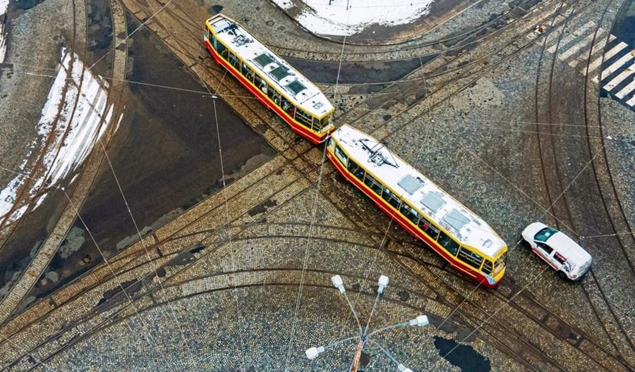 Łódź: Szybki remont skrzyżowania. W przyszłym roku – gruntowna przebudowa