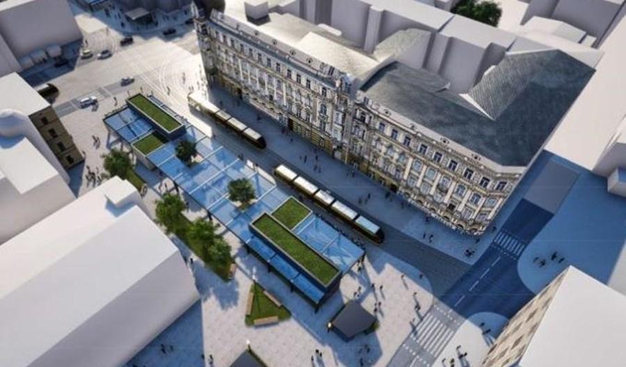 Łódź: Budowa przystanku Łódź Śródmieście zacznie się z opóźnieniem