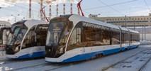Moskwa: Tramwaje Witiaź-M z nowej dostawy i w nowej odsłonie wyjechały na tory