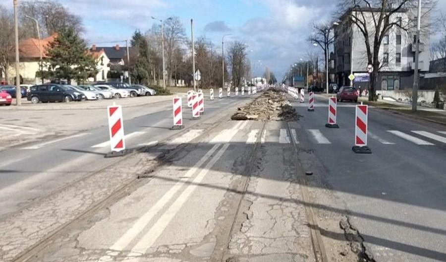 Pabianice: Niebawem zamknięcie ul. Warszawskiej. Koniec prac tramwajowych w 2022 r.