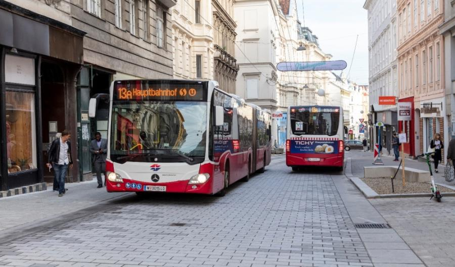 Do Wiednia trafi ponad 400 nowych autobusów od Mercedesa