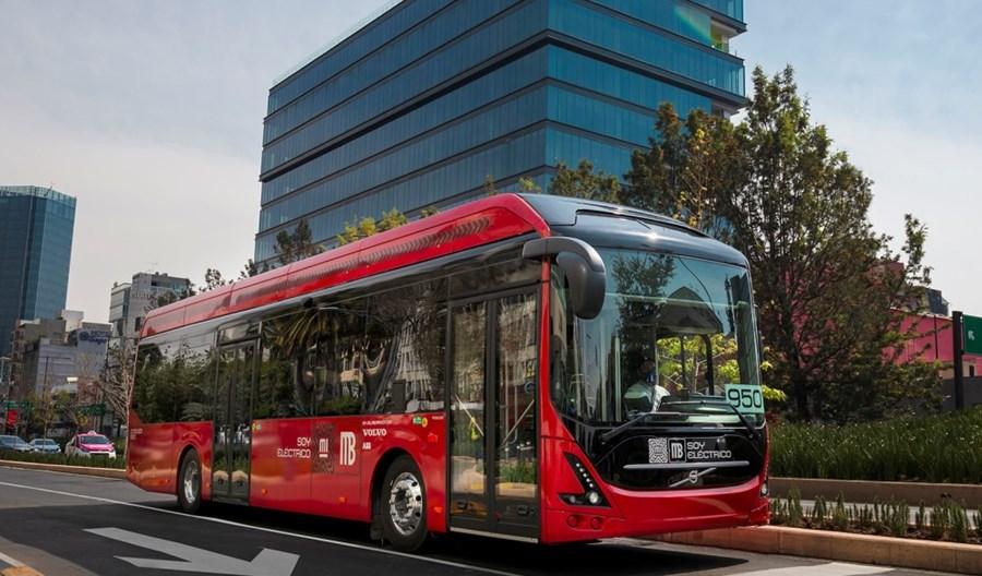 Volvo Buses testuje swój pierwszy w Meksyku elektrobus