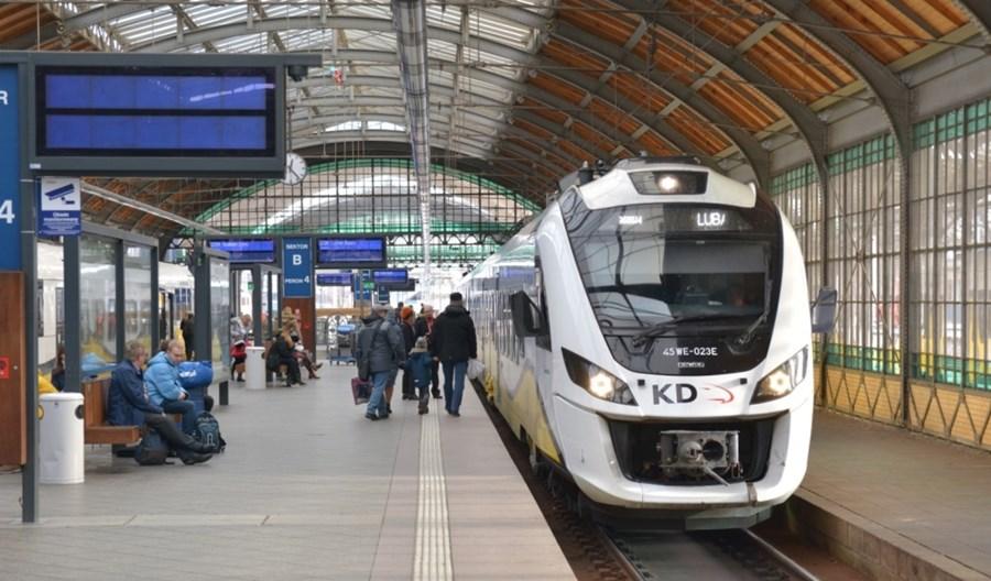 Wrocław wraca do rozmów o wspólnym bilecie na kolei