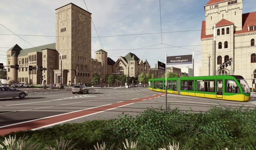 Poznań: Cztery oferty na przebudowę ul. Św. Marcin od mostu do Gwarnej