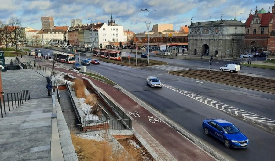 Gdańsk: Powstaną pasy przy Bramie Wyżynnej. Niebawem umowa z wykonawcą