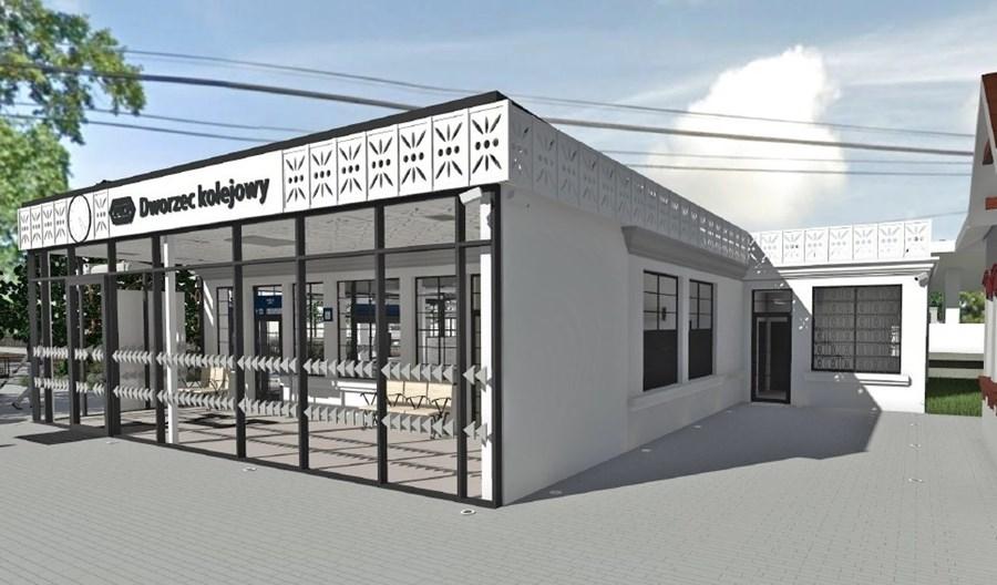 PKP SA z ofertami na przebudowę dworca w Milanówku