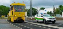 Poznań. Testy techniczne na trasie na Naramowice
