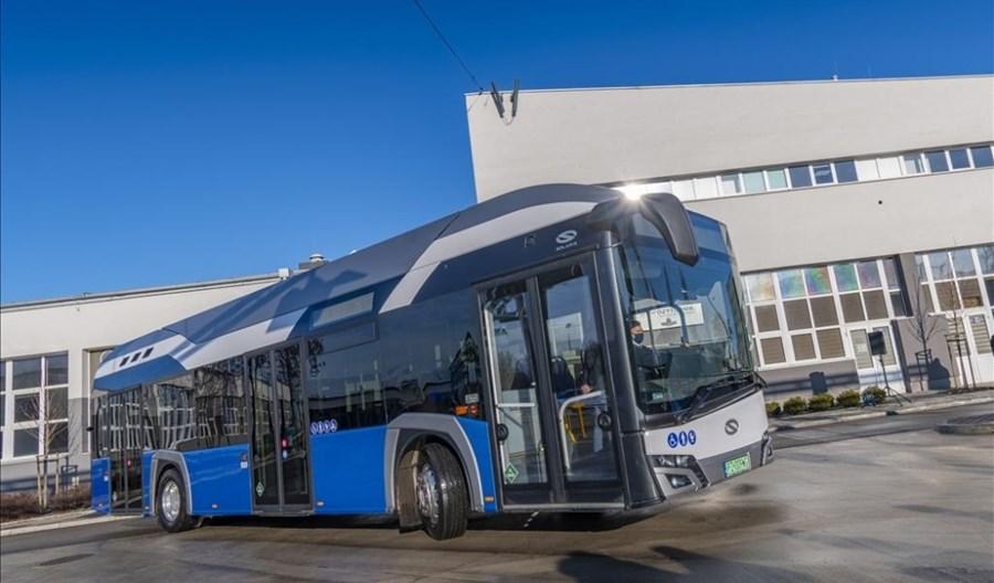Kraków przygotowuje się do zakupu 40 autobusów zasilanych wodorem