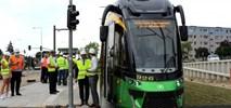 Poznań. Pierwsze tramwaje na trasie do ul. Włodarskiej