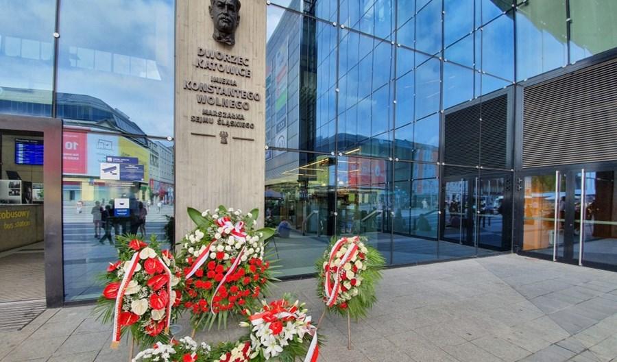 Wolny patronem dworca w Katowicach