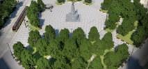 Łódź: Przetarg na przebudowę Placu Wolności. Zniknie tramwajowe rondo