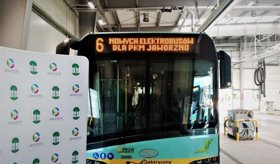 Nowe Solarisy dotrą do Jaworzna. Liczba elektrobusów wzrośnie do 50
