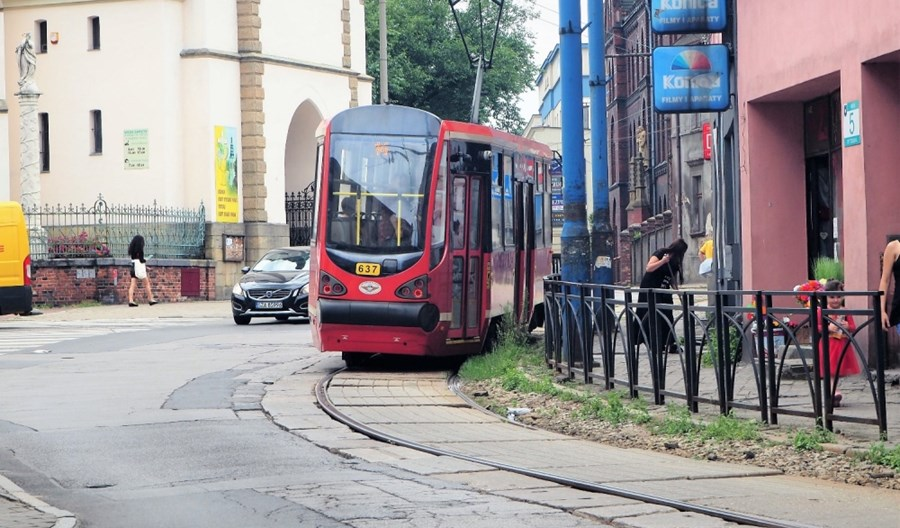 Startuje przebudowa linii tramwajowej w Mysłowicach. Linia 14 skrócona