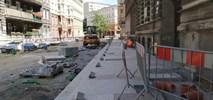 Szczecin: Trwa przebudowa ulic w Śródmieściu