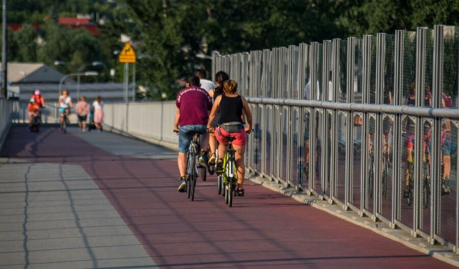 Kraków chwali się nowymi drogami dla rowerów. Sporo planów i koncepcji
