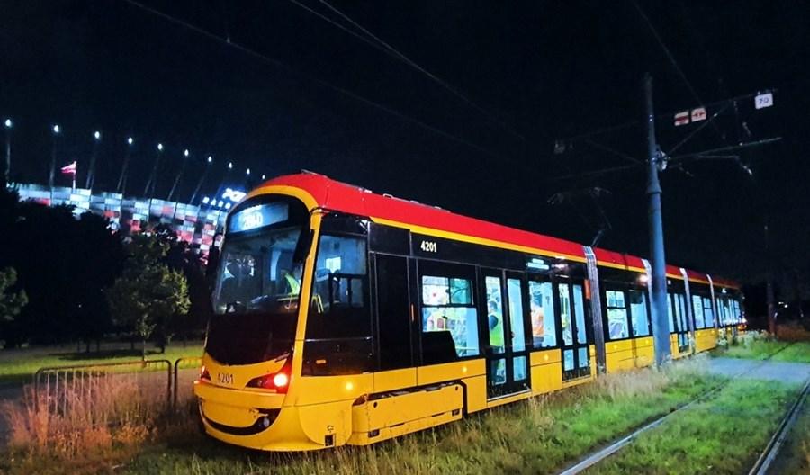 Warszawa: Tramwaje Hyundaia jednymi z najcichszych w Polsce
