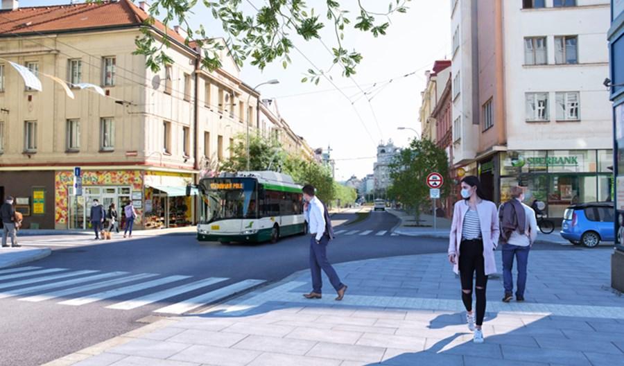 Pilzno zamyka jedną z głównych ulic dla transportu indywidualnego
