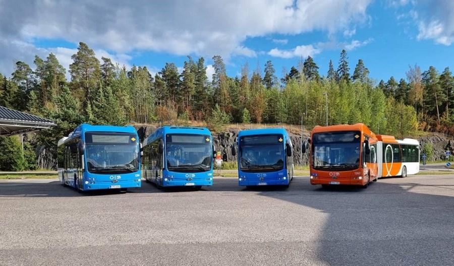 Elektrobusy z opcji już w Helsinkach. Firma BYD ugruntowuje swoją pozycję w Skandynawii