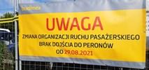 Warszawa Zachodnia: Bez dojścia od strony Tunelowej i peronu 8 [zmiana terminu]