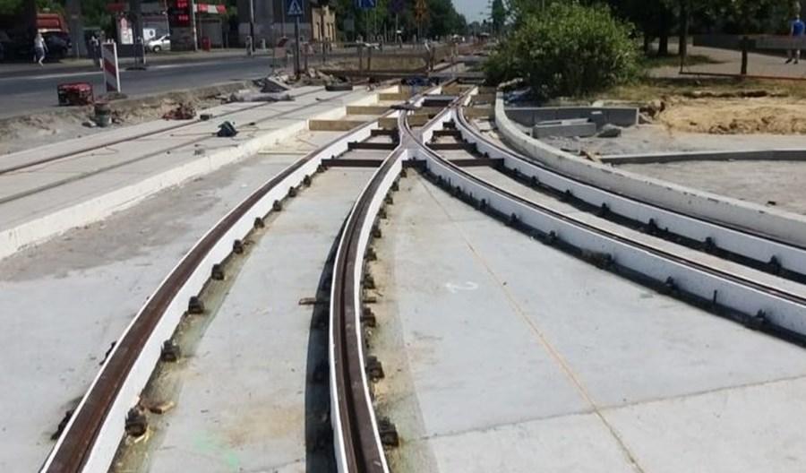 Pabianice: Koronawirus opóźnił modernizację linii tramwajowej
