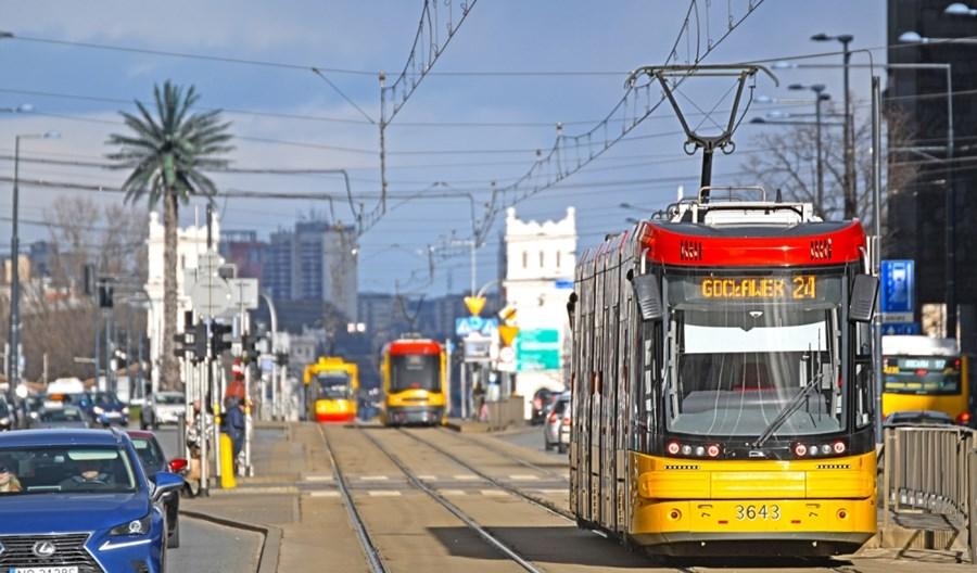 Warszawskie inwestycje tramwajowe na granicy. Wiceprezydent Olszewski: Widać tu przewagę metra