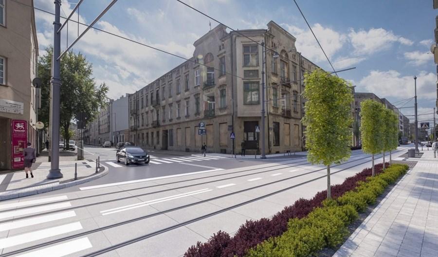 Łódź: Rusza przetarg na remont Legionów i Cmentarnej. Powrót tramwajów w 2023 r.?