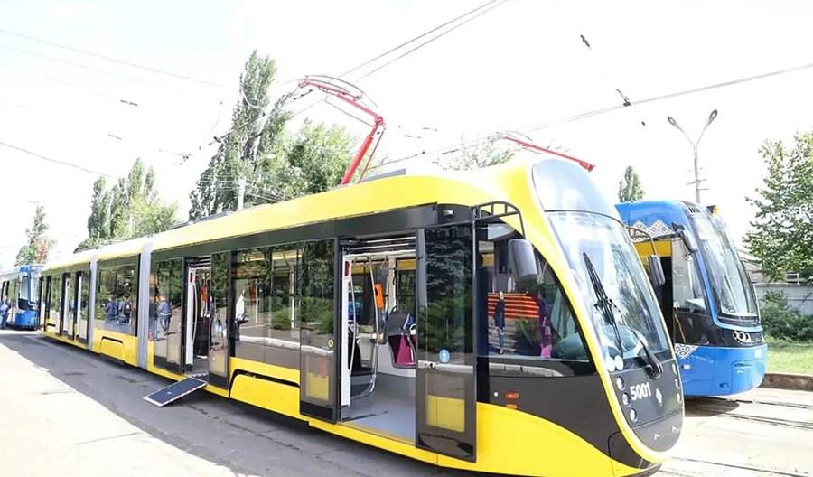 W Kijowie ruszają nowe tramwaje. W tym trzy od Pesy