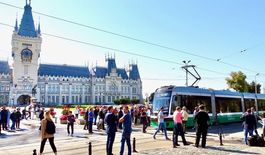 Rumunia: Pierwsze Swingi wożą już pasażerów w Jassach