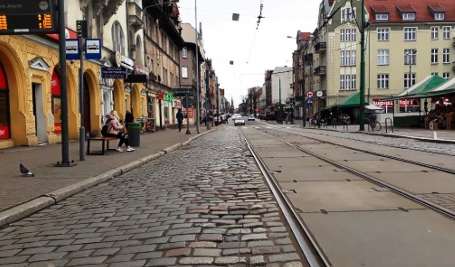 Poznań: Rusza budowa przystanków wiedeńskich na ulicy Dąbrowskiego