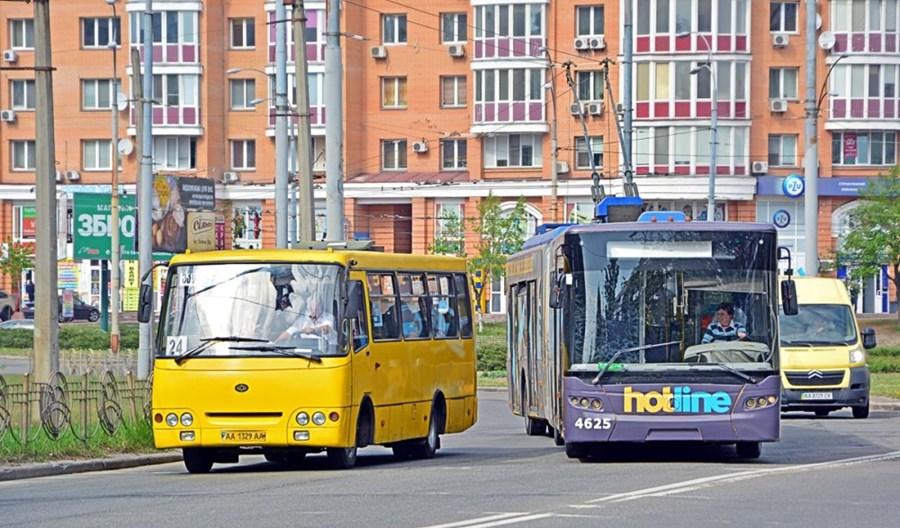 Kijów kupuje elektrobusy