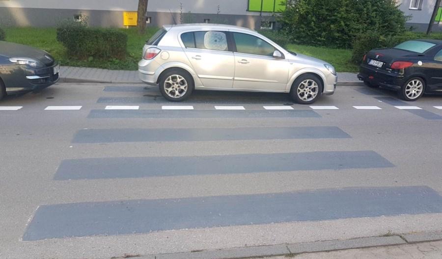 Miasteczko Śląskie chwali się likwidacją przejść dla pieszych