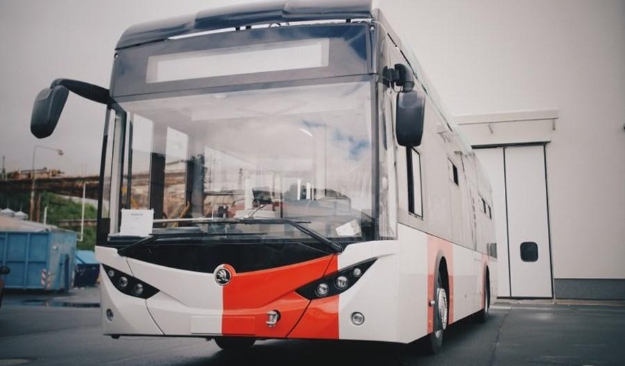 Elektrobusy Skody dla Pragi już na testach