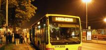 Pabianice wznawiają komunikację nocną z Łodzią