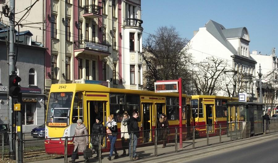 Łódź: Więcej podwójnych przystanków tramwajowych