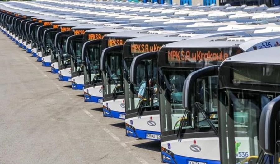 Kraków dostał 61,5 mln zł na zakup 78 autobusów