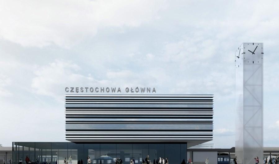 Koncepcja przebudowy dworca kolejowego w Częstochowie budzi emocje