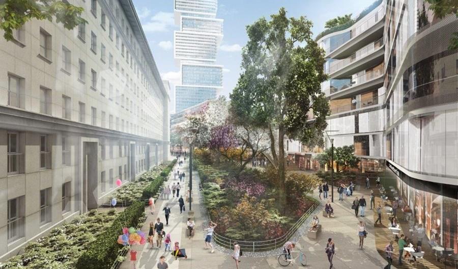 Warszawa: Dlaczego kolej zrezygnowała z możliwości zabudowy linii średnicowej?