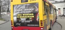 Łódź: Władze miasta chcą zakazać reklamy na szybach. MPK protestuje