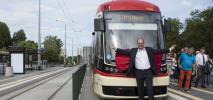 Gdańsk zainaugurował trasę tramwajową na Morenę