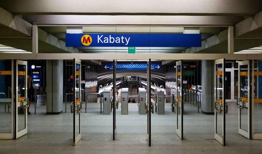 Metro z ofertami na projekt przebudowy układu torowego stacji Kabaty