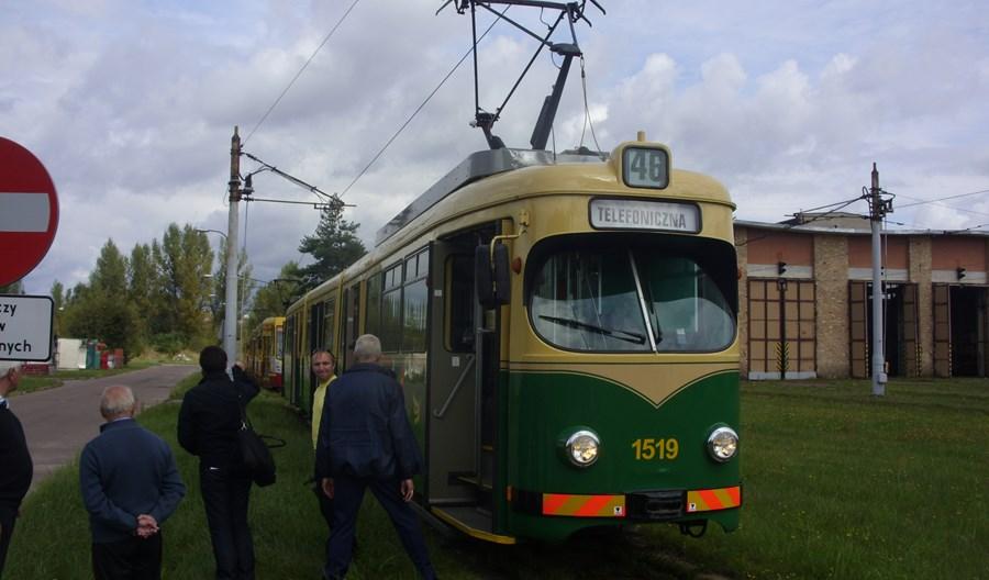Łódź. Używane GT8N z Helsinek już w ruchu