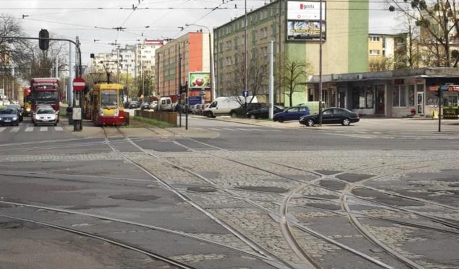 Łódź: Ważne skrzyżowanie tramwajowe do przebudowy